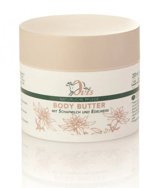 Ovis Body Butter Edelweiss 200 ml